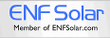 We're a member of ENF Solar
